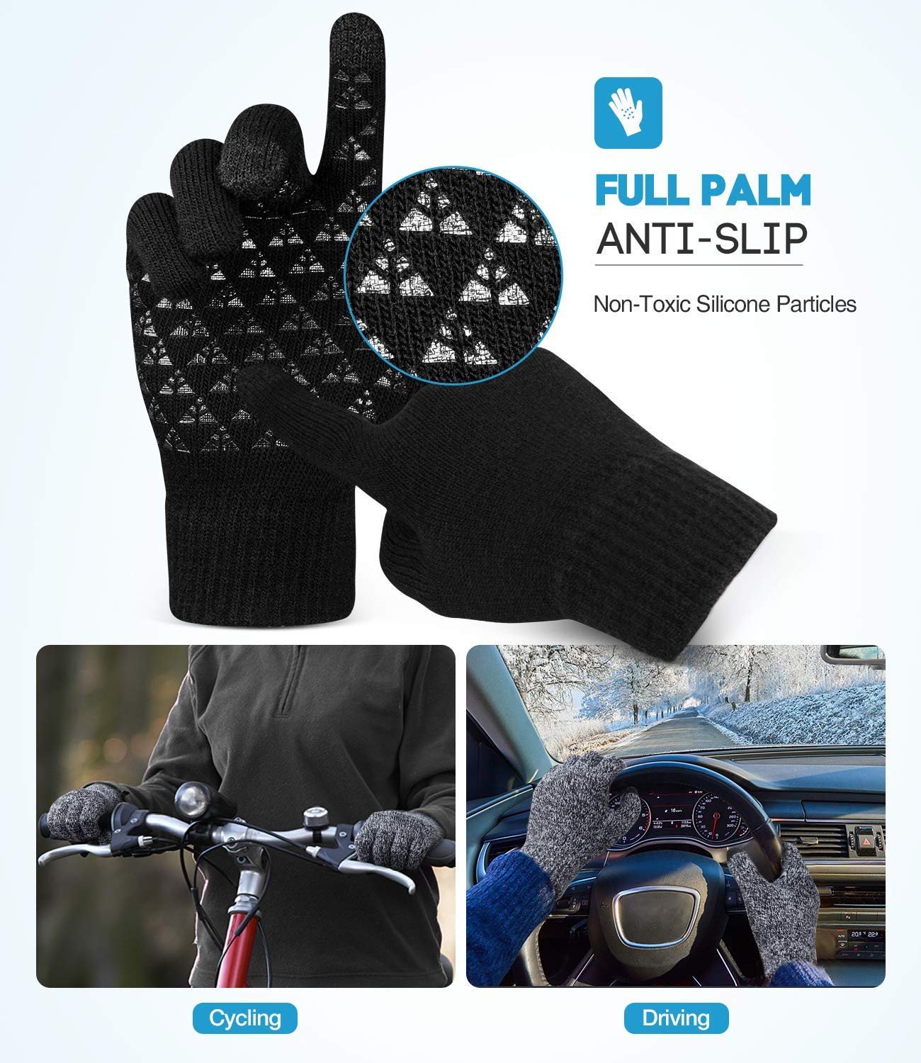Use your cellphone while wearing winter gloves 🧤 ❄️