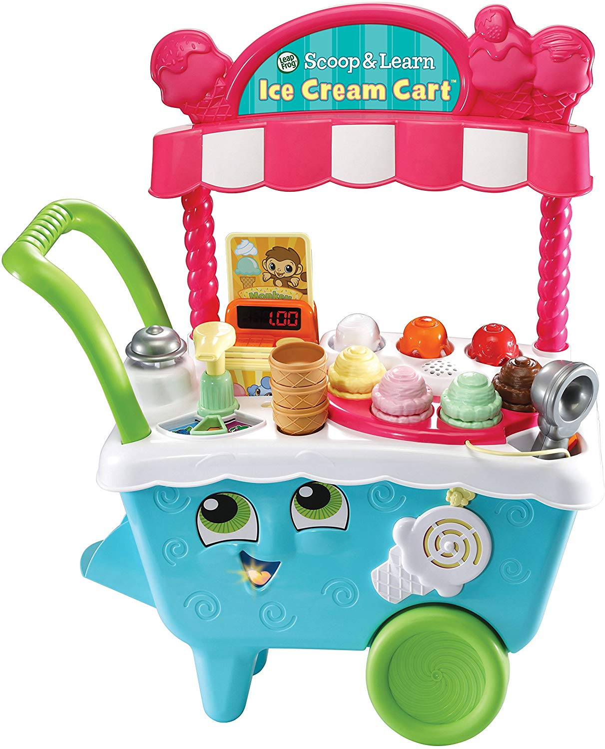 Train your child for business success using the LeapFrog Ice Cream Cart 🍦🧠
