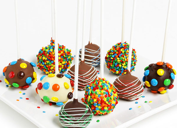 Birthday Cake Pops 🎂💯